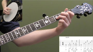 10 Licks In The Key Of D Intermediate Banjo