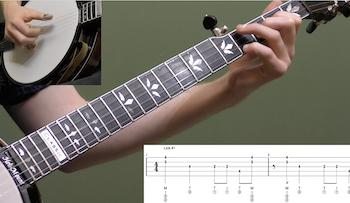 10 Moveable D Shape Licks Intermediate Banjo Lesson