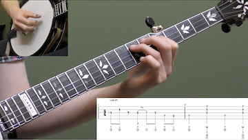 10 Moveable Minor Chord Licks Intermediate Banjo