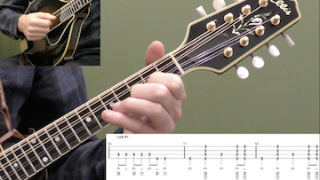 10 Pentatonic Licks (Key Of G) Beginner Mandolin
