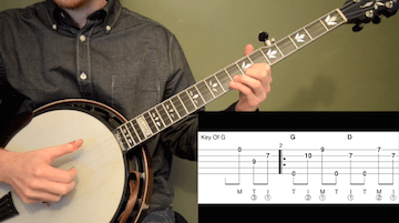 Blackberry Blossom Intermediate Banjo