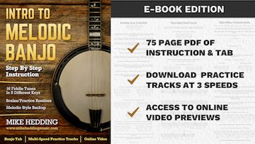 Intro To Melodic Banjo E-Book