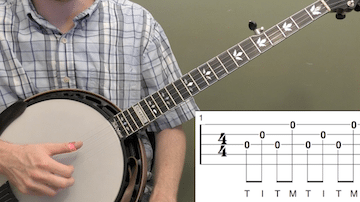 Basic Right Hand Workout Beginner Banjo