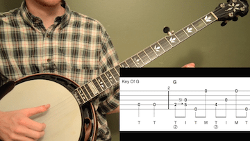 Grandfather's Clock Beginner Banjo