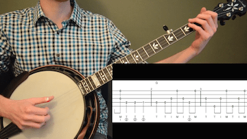 Long Journey Home Beginner Banjo
