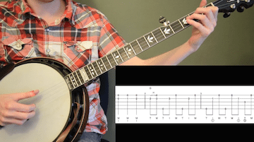 Man Of Constant Sorrow Beginner Banjo