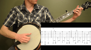 Man Of Constant Sorrow Intermediate Banjo
