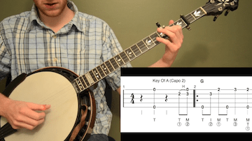 Old Joe Clark Beginner Banjo