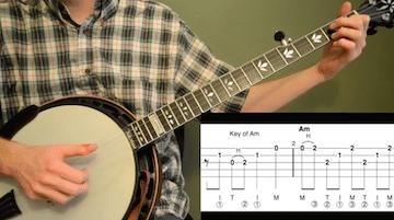 Wayfaring Stranger Intermediate Banjo