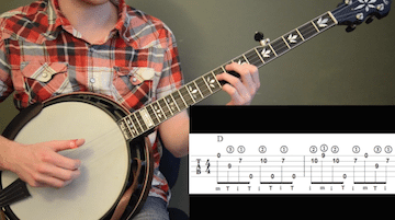 Whiskey Before Breakfast Intermediate Banjo