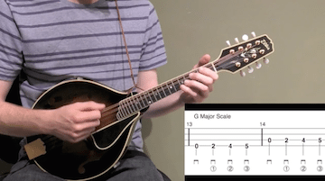 Basic Open String Major Scales