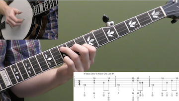 3/4 Time Backup Licks (Jimmy Martin Style)