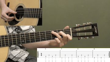 Alternating Thumb Basics Beginner Guitar