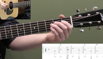 Amazing Grace Beginner Guitar Lesson