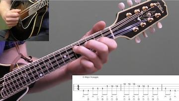 Arpeggio Shifting Exercises Beginner Mandolin