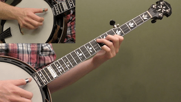 Banjo Lick Breakdown #2
