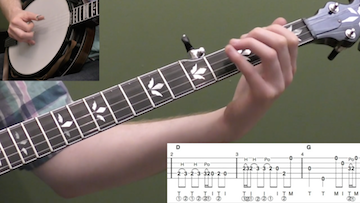 Banjo Lick Breakdown #3