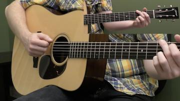 Basic Right Hand Technique Beginner Guitar