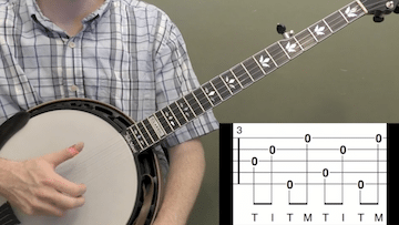 Basic Rolls Beginner Banjo