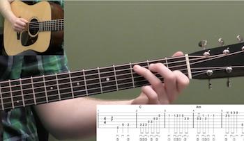 Billy In The Lowground Intermediate Guitar Tab