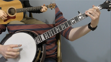 Bluegrass Banjo Backup Techniques