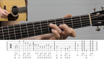 Bluegrass Ending Lick Intermediate Guitar