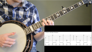 Create Your Own Bluesy Banjo Licks
