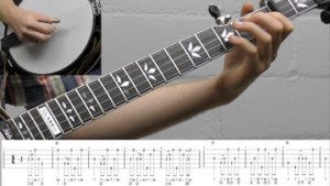 Cryin' Holy Unto The Lord Intermediate Banjo Lesson