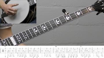 Down The Neck Rolling Backup (Banjo Breakdown) Intermediate Banjo