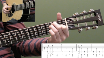 Fingerstyle Guitar Basics (Key Of E)