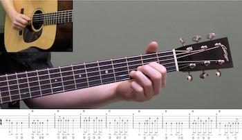 Grandfather's Clock Intermediate Guitar Lesson