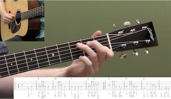 Hard Times Come Again No More Beginner Guitar Lesson