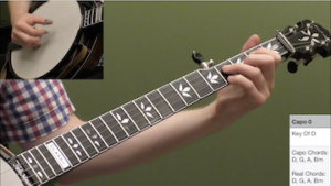 How To Play In Any Key Using A Capo Beginner Banjo Lesson