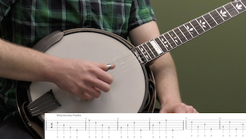 Improve Your Right Hand Thumb Beginner Banjo