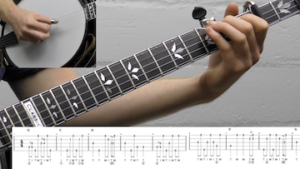 In The Sweet By And By Backup Beginner Banjo Lesson