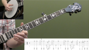 John Henry (Up-The-Neck) Intermediate Banjo Lesson