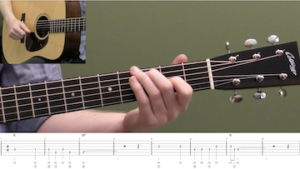 Just A Closer Walk With Thee Beginner Guitar Lesson