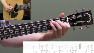 Keep On The Sunny Side Beginner Guitar
