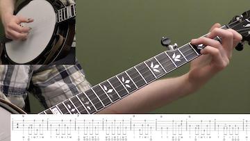 Little Maggie (Backup) Beginner Banjo