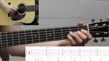 Long Journey Home Beginner Guitar