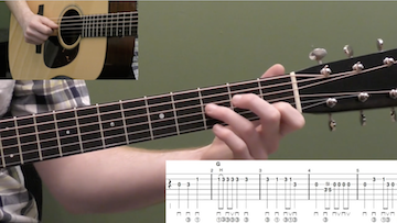 Man Of Constant Sorrow Beginner Guitar