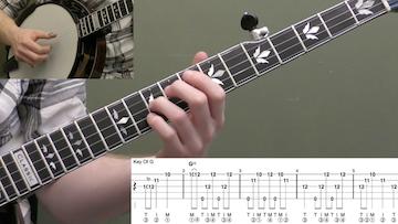 Man Of Constant Sorrow (Up-The-Neck) Intermediate Banjo