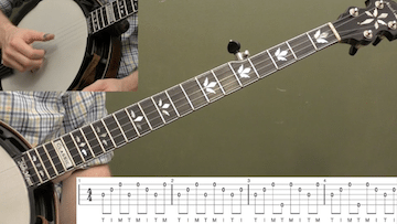 Mastering The Forward-Reverse Roll Beginner Banjo