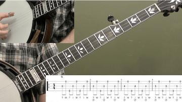 Mastering The Forward Roll Beginner Banjo