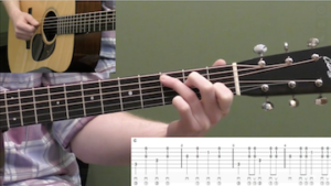 Playing Melody While Strumming Beginner Guitar Lesson