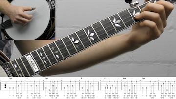 Shady Grove (Backup) Intermediate Banjo