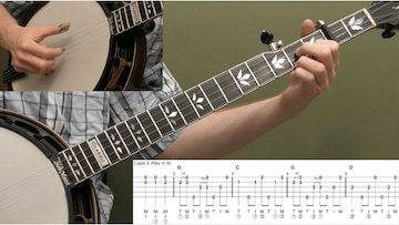 Shenandoah Valley Breakdown Intermediate Banjo