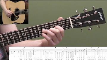 Soldier's Joy Beginner Guitar