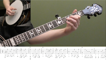 Swing Low Sweet Chariot (Backup) Beginner Banjo