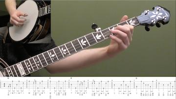 Swing Low Sweet Chariot (Backup) Beginner Banjo